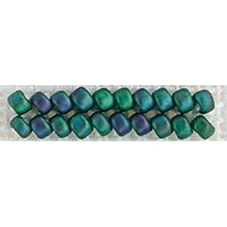 (Mill Hill Antique Glass Seed Beads 2.5mm 2.63g-Juniper Green)