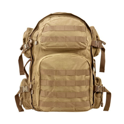 Tactical Back Pack/Tan