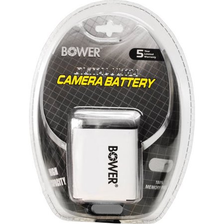 Bower 650 mah replacement battery for Nikon Coolpix S4300, S5200, S6800, S3700 650 Mah Replacement Battery