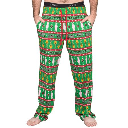 A Christmas Story Major Award Leg Lamp Pink Nightmare Green Lounge Pants - 45 Christmas Story Leg Lamp