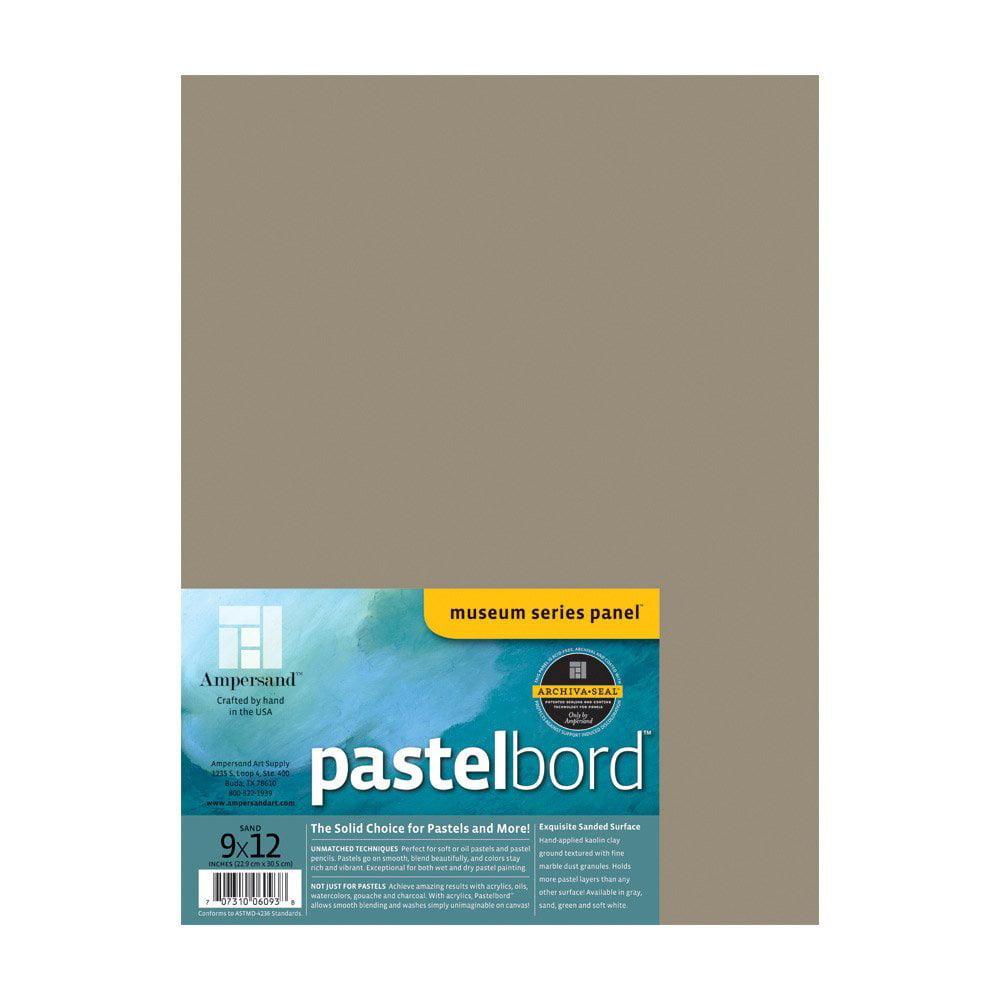 "Ampersand Art - Pastelbord - 9"" x 12"" - Sand"