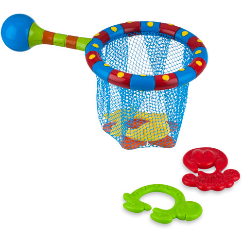Nuby Splash n' Catch Bath Time Fishing Set