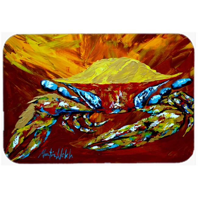 Crab Buster Brown Mouse Pad, Hot Pad or Trivet