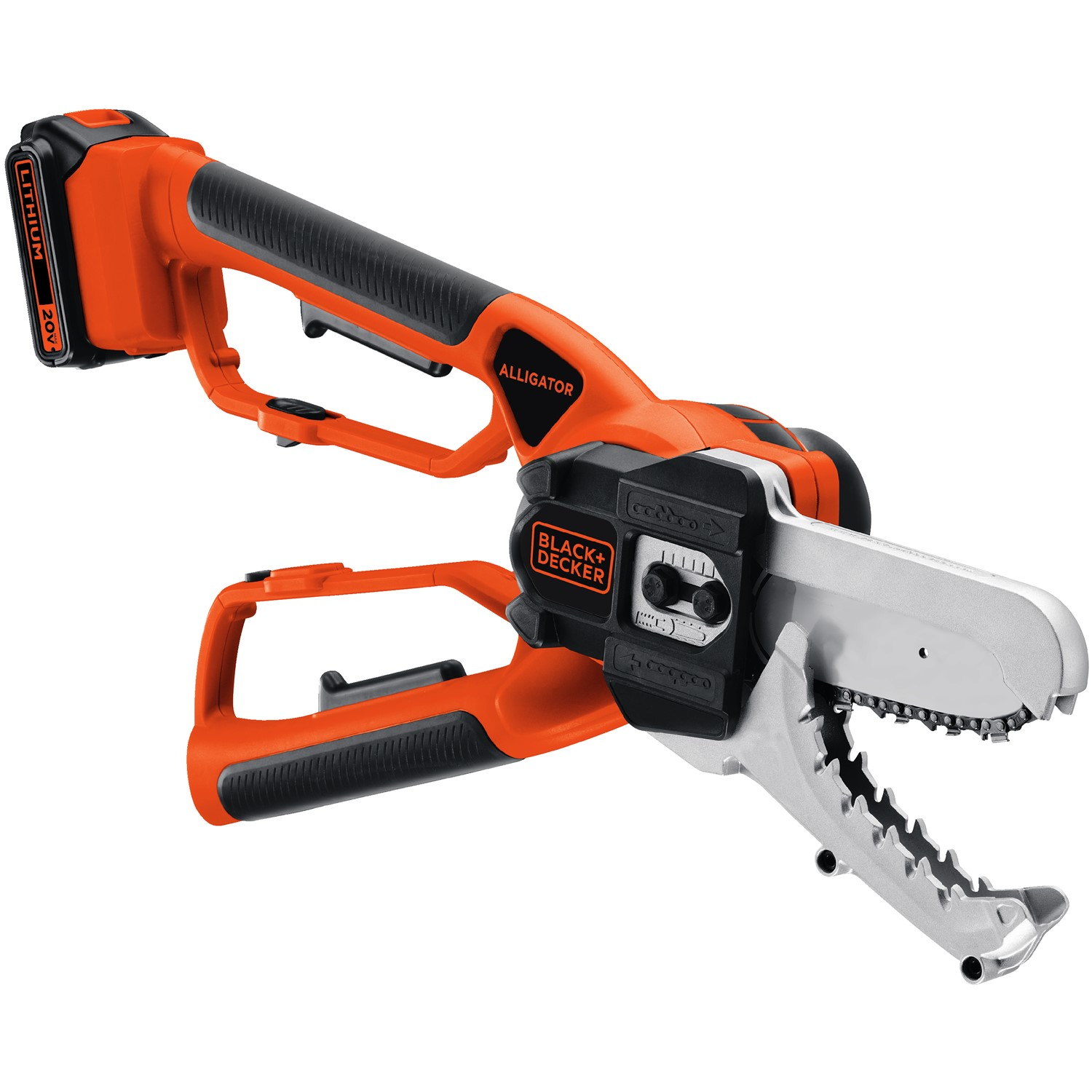 BLACK+DECKER LLP120 20V MAX Cordless Lithium-Ion Alligator Lopper Kit