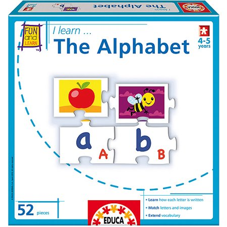 I Learn... The Alphabet - Learning The Alphabet Song