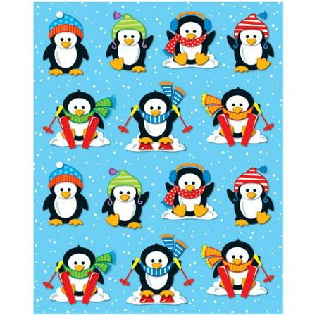 Carson Dellosa Penguins Shape Stickers  168034