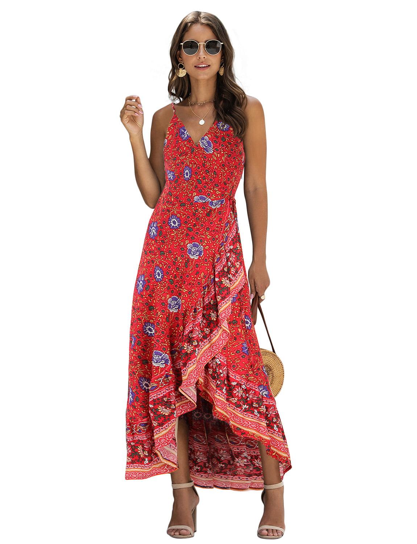 bohemian party dress