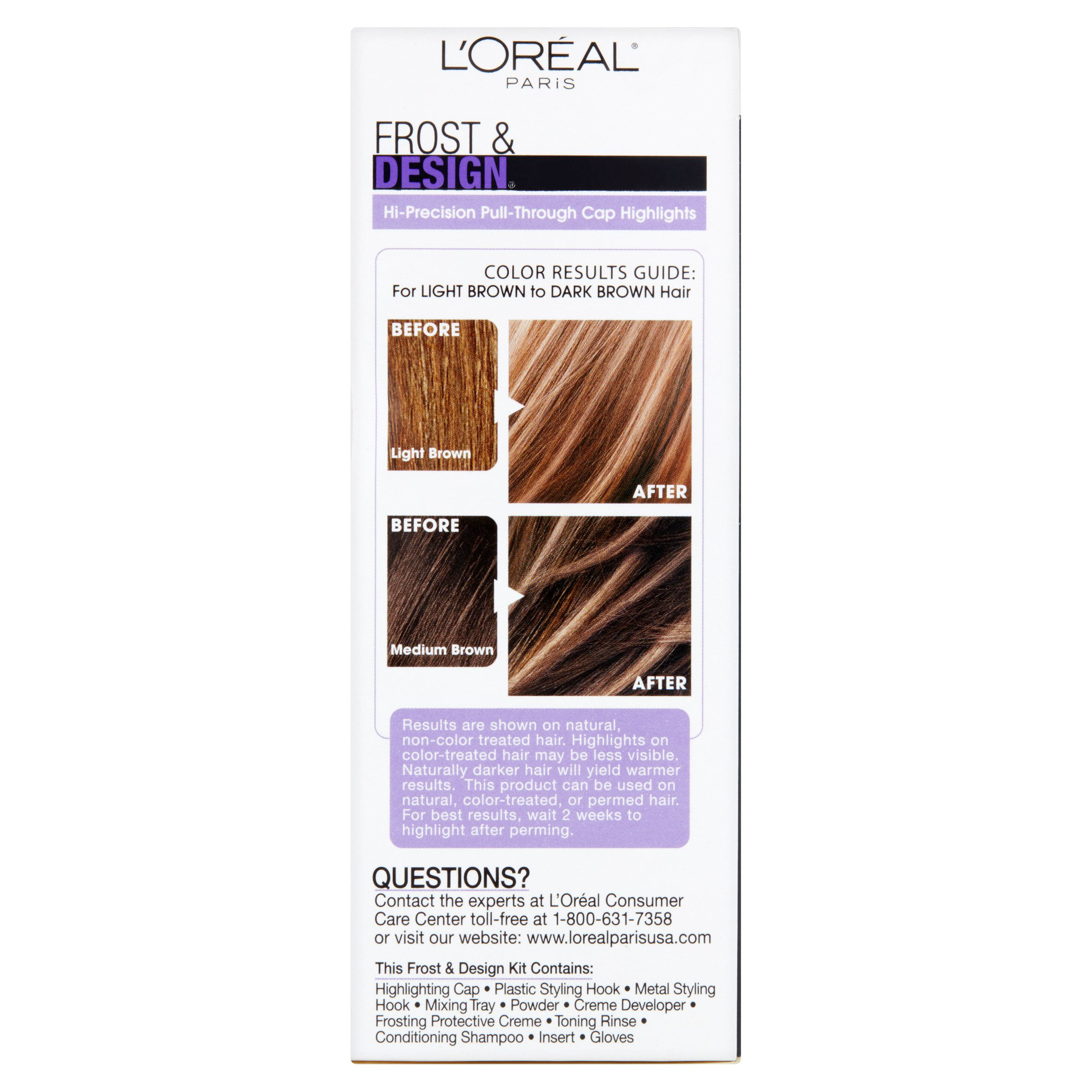 Loreal Paris Professional Techniques Frost Design Caramel 1