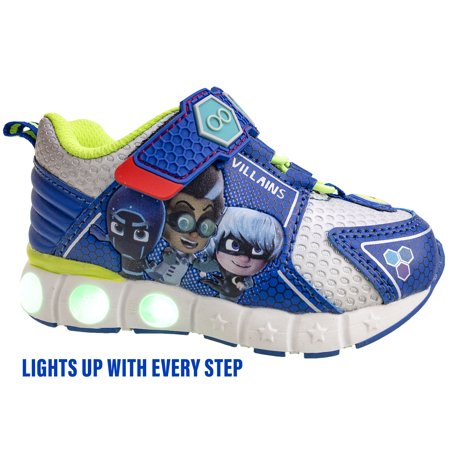 PJ Masks Characters Athletic Sneakers (Toddler Boys)