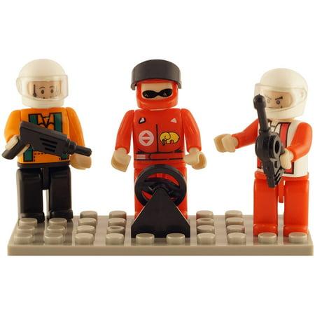 Brictek 3 Mini-Figurines, Racing