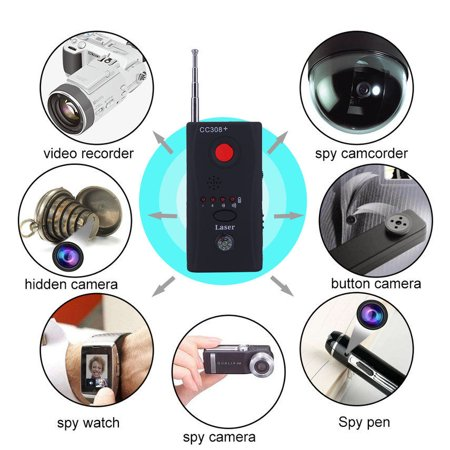 Gps Signal Jammer - Wireless Hidden Camera GSM Audio Bug Finder GPS Signal Lens RF Tracker