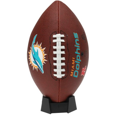 Miami Dolphins Rawlings Game Time Official Size Football - No Size](Univ Of Miami Football)