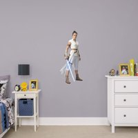 Fathead Rey - Star Wars: The Rise of Skywalker - X-Large Officially Licensed Removable Wall Decal