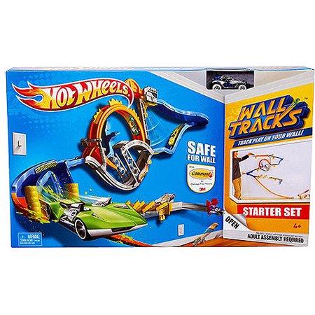 Hot Wheels Wall Tracks Starter Set 1 - Walmart.com