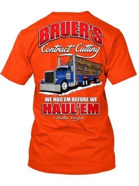 1d96228fe Product Image Bruer's Contract Cutting Hanes Tagless Tee T-Shirt