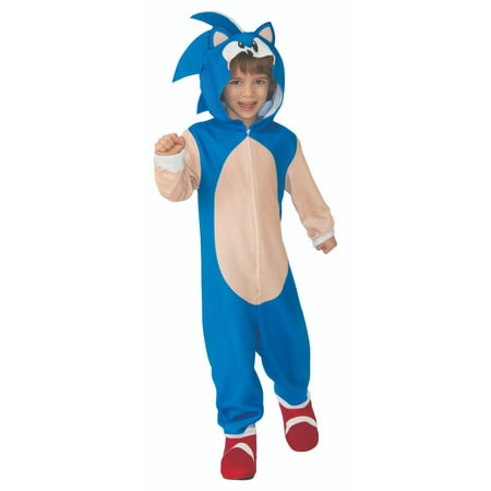 Cheetah Jumpsuit Costume (Sonic The Hedgehog Oversized Kids Jumpsuit Halloween)