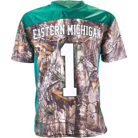 NCAA Eastern Michigan Youth Realtree Game Day Jersey
