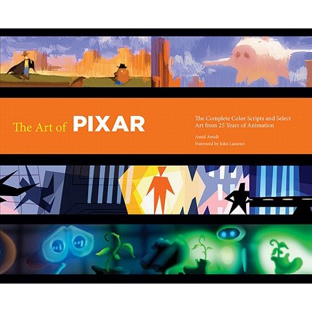 - The Art of Pixar: 25th Anniv. : The Complete Color Scripts and Select Art from 25 Years of Animation