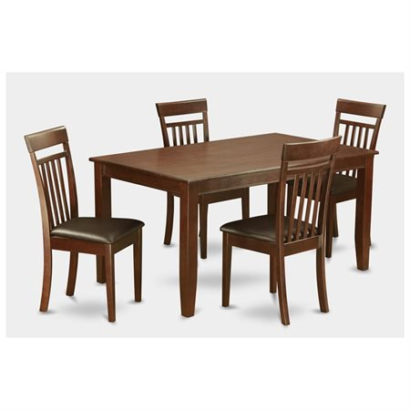 mah lc 5 piece dining table set for 4 dining room table and 4 dining