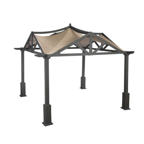 Garden Winds Replacement Canopy for Garden Treasures Pergola Gazebo