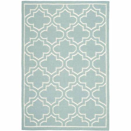 Safavieh Dhurrie Walter Geometric Moroccan Area Rug or Runner ()