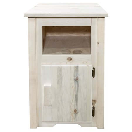 Montana Woodworks Homestead Right Hinged End Table ()
