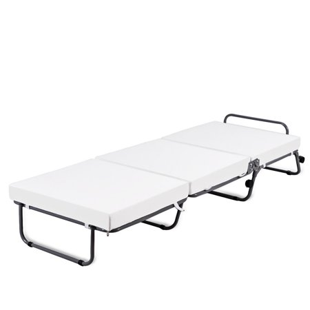Superb Costway Folding Convertible Sofa Bed Ottoman Couch Mattress Lounge Sleeper W Casters Ncnpc Chair Design For Home Ncnpcorg