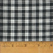 Mountain Lodge 2 Plaid Homespun Cotton Fabric Sold By The Yard Jcs