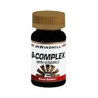 Windmill B-Complex Tablets with Vitamin C and Iron Supplement - 100 (B Complex With Vitamin C And Iron)