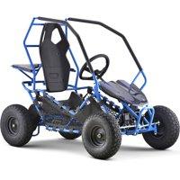 MotoTec Maverick Electric Go Kart 36v 500w Blue