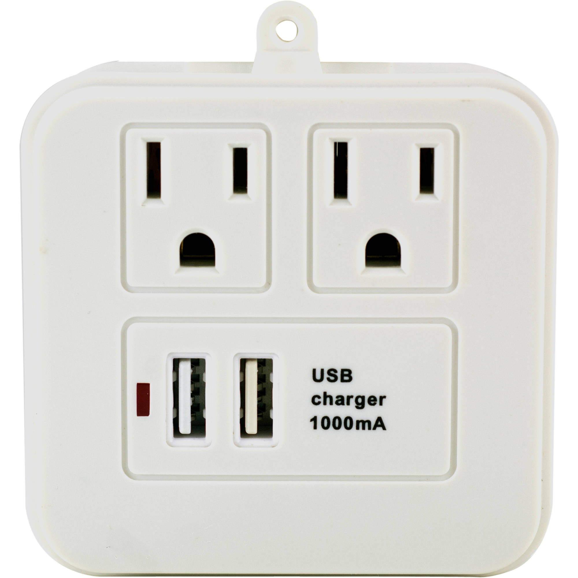 GE 2 Outlet Tab with USB Charging
