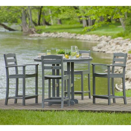 Cafe Dining Set (POLYWOOD® La Casa Cafe Counter Dining Set - Seats 4 )