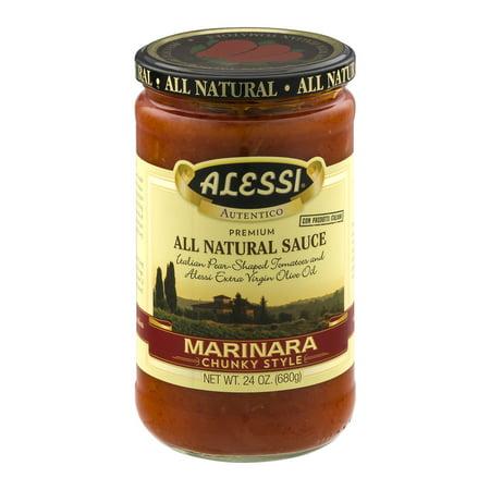 Image of Alessi All Natural Sauce Marinara Chunky Style, 24.0 OZ