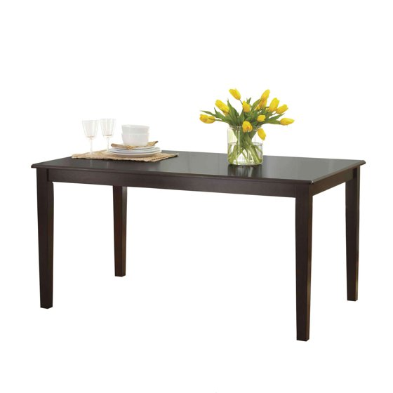 Better Homes and Gardens Bankston Dining Table, Multiple Finishes ...