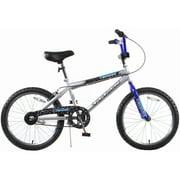 "TITAN Tomcat Boys BMX Bike with 20"" Wheels, Blue and Silver"