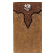 Ariat Accessories Men's Rodeo Embossed Wallet BROWN OS