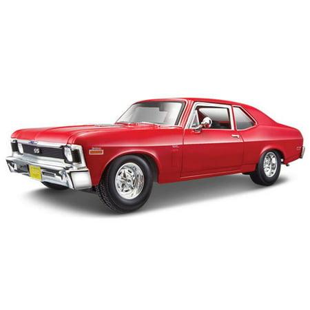 Maisto MAI31132R 1970 Chevrolet Nova SS Coupe, - Chevrolet Nova Coupe
