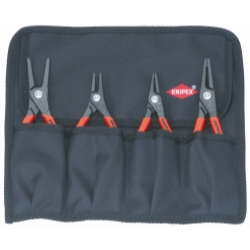 4 Piece Straight Head Snap Ring Pliers Set