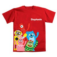 Personalized Yo Gabba Gabba! Gabba Friends Toddler T-Shirt
