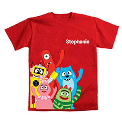 Personalized Yo Gabba Gabba! Gabba Friends Toddler T-Shirt