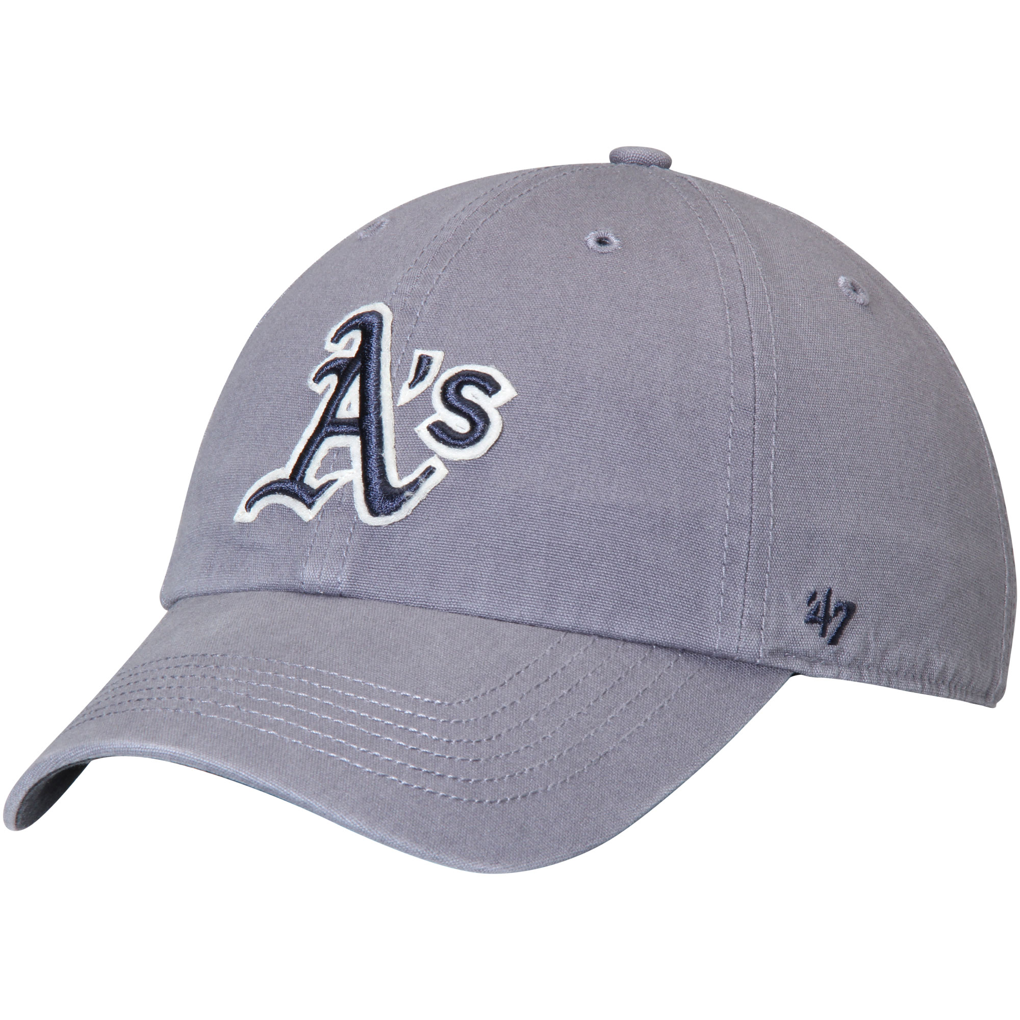 Oakland Athletics '47 Borderland Clean Up Adjustable Hat - Navy - OSFA