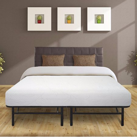 Best Price Mattress 10 Inch Air Flow Memory Foam Mattress & 14 Inch Steel Bed Frame