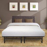 Best Price Mattress 10 Inch Air Flow Memory Foam Mattress & 14 Inch Steel Platform Bed Frame Set, Multiple Sizes