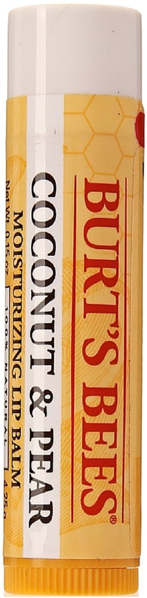 Burts Bees Lip Balm, Coconut & Pear 0.15 oz (Pack of 3) Chamomile Cleansing Lotion Facial Cleansing Cream Wash For Sensitive Skin