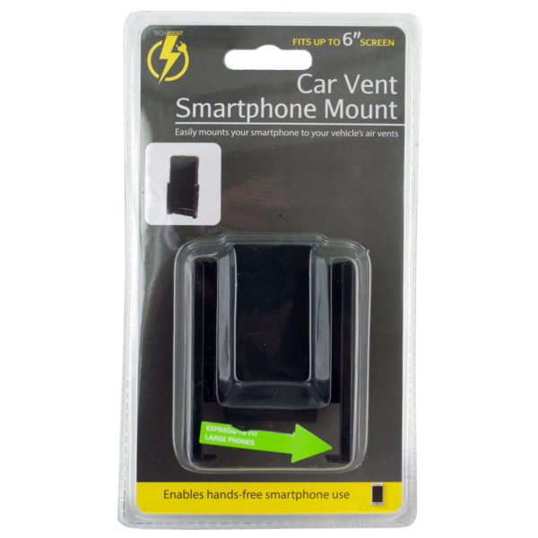 Universal Car Vent Smartphone Mount (Pack Of 12)