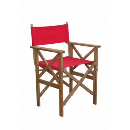 Anderson Teak Director Outdoor Folding Armchair - Set of - Teak Tropical Folding