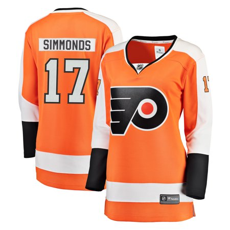 detailed look e7076 838bf Wayne Simmonds Philadelphia Flyers Fanatics Branded Women's ...