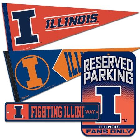 Illini Fan - Illinois Fighting Illini WinCraft Fan Cave Set - No Size