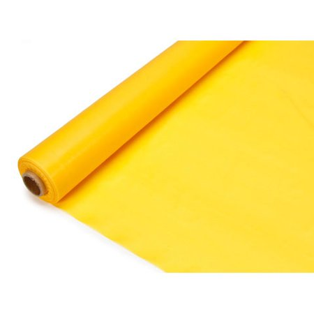 Roll Of Table Cover (Plastic Table Cover Roll - Dark Yellow - 40 inches x 100)
