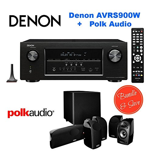 Denon AVR-S900W 7.2 Channel Full 4K Ultra HD A/V Receiver...